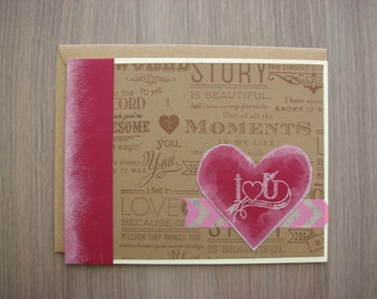 Street Art Love - For Your Significant Other - Blank Occasional Card