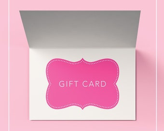Gift card, gift card for wreaths, gift card for home decor, gift card for etsy