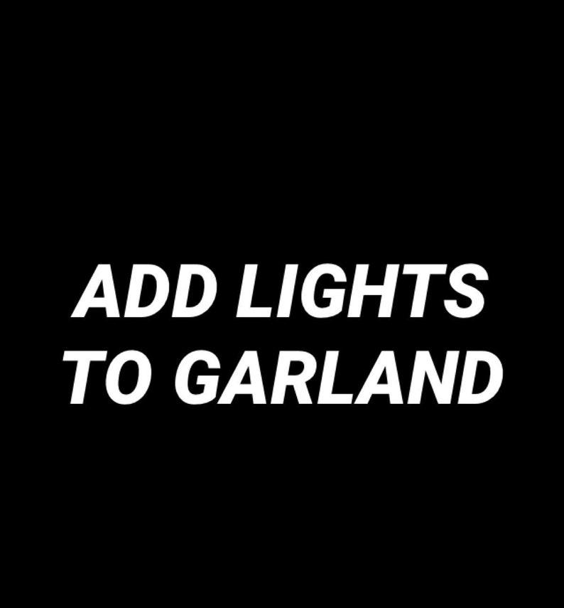 Listing for Garland lights image 0