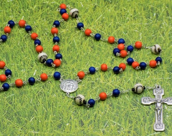 Sports Glass Rosaries