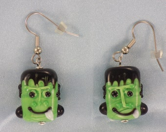 Frankenstein and Mummy Earrings