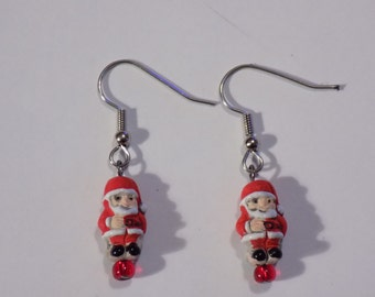 Holiday & Christmas Earrings - Santa Claus - Santa Claus Head - Christmas Tree - Nutcracker - Snowman - 5 Styles to Choose From