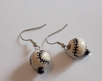 Sports Earrings - Baseballs (2 Sizes) - Footballs - Basketballs - Soccer Balls - Bowling Pins - 5 Styles to Choose From