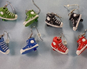 Sneaker & Ice Skate Earrings - Sneakers (4 Colors) - Ice Skates - 5 Styles to Choose From