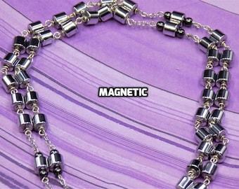 Metal/Hematite Rosaries