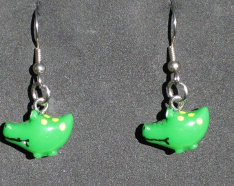 Alligator and Crocodile Earrings - Alligators - Crocodiles - 2 Styles to Choose From