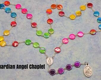 Devotional Prayer Chaplets - Guardian Angel -Infant of Prague -Saints:Anthony - Ann -Elizabeth Ann Seton -Augustine -Francis Xavier -Cabrini