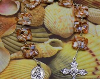 Devotional Prayer Chaplets - St. Kateri Tekakwitha - Our Lady of Lourdes - Holy Spirit - St Sebastian - St Bernadette - St. Christopher (2)