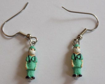 Doctor, Nurse and Teacher Earrings - 3 Different Styles to Choose From