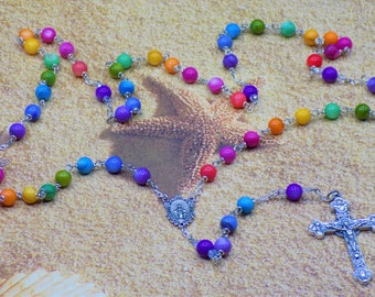 Rainbow & Glow Rosaries