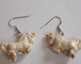Unicorn & Pegasus Earrings - 3 Different Styles