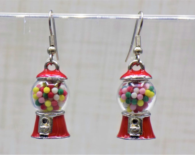 Candy and Cookie Earrings - Bubble Gum Machine - White & Dark Chocolates(5) - Fortune Cookies(2 Sizes) -Oreo Cookies -Chocolate Chip Cookies