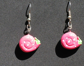 Pink Snails, Butterflies  & Bumble Bee 3D Novelty Earrings