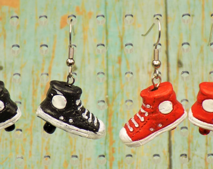 Sneaker & Ice Skate Earrings - Sneakers (5 Colors) - Ice Skates - 6 Styles to Choose From