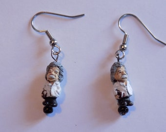 Einstein, Astronaut, Priest, Nun and Yoga Lady Earrings - 5 Different Styles to Choose From