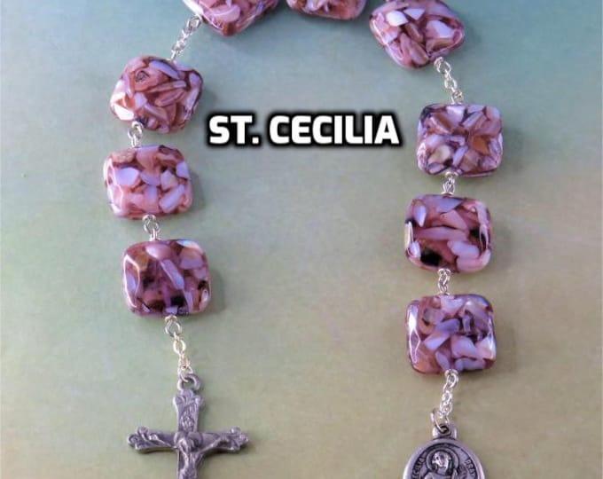 Devotional Prayer Chaplets - Saints: Cecilia - Aloysius Gonzaga (2)- Philomena - Nicholas - Maximilian Kobe - Benedict - Lady of Czestochowa