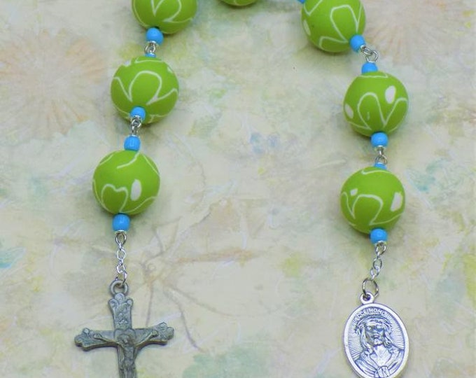 Devotional Prayer Chaplets - Seven Sorrows - Sacred Heart - St. Rose of Lima - Our Lady of the Rosary