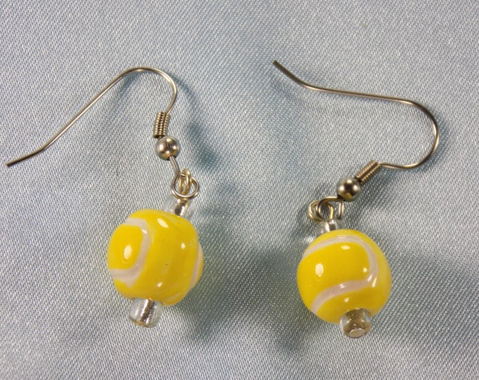 Sports Earrings - Tennis Balls - Golf Balls - Volleyballs - Polo Balls - Eight Balls - 5 Different Styles to Choose From