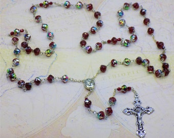 Rosebud &Flower Rosaries