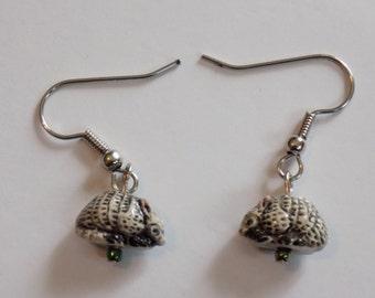 Armadillo 3D Earrings