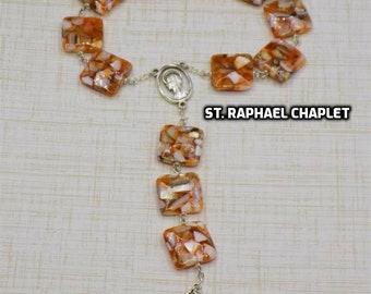 Devotional Prayer Chaplets - Saints: Raphael - Jude - Valentine (2) - Barbara - Paul of the Cross - Francis of Assisi - Vincent de Paul