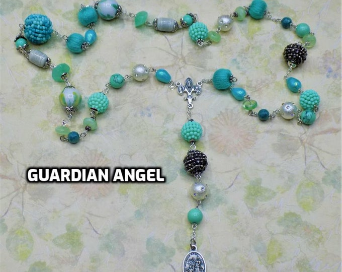 Devotional Prayer Chaplets-Guardian Angel-Infant of Prague -Saints: Anthony-Ann-Elizabeth Ann Seton-Augustine-Francis Xavier-Frances Cabrini