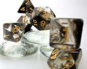 Interstellar Collection in 5 Colors Polyhedral Dice Sets Dungeons and Dragons DND DICE
