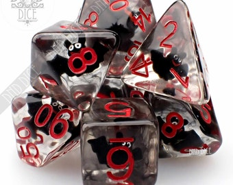 Bat Guano Dice Set   Limited Edition Halloween   Dungeons & Dragons   DND DICE