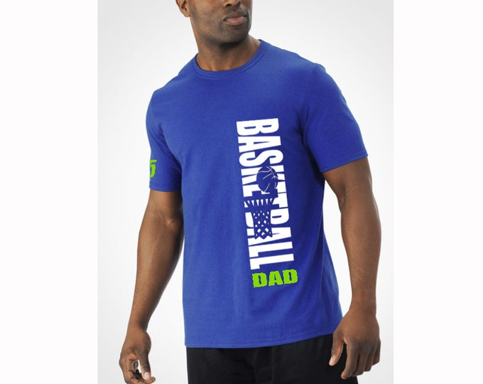 Basketball father's day gift; Gift for dad who plays basketball; t-shirt for uncle and grandpa