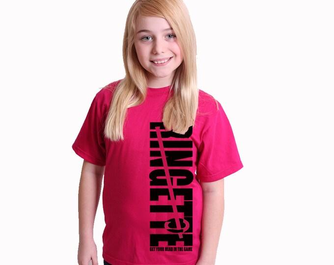 Customized ringette tshirts; ringette gift
