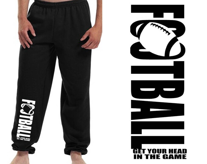 Sweatpants for football player / boys sweatpants / football team pants