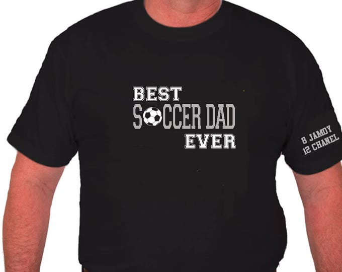 Soccer dad t-shirt; Father's day gift; Gift for dad; soccer coach gift