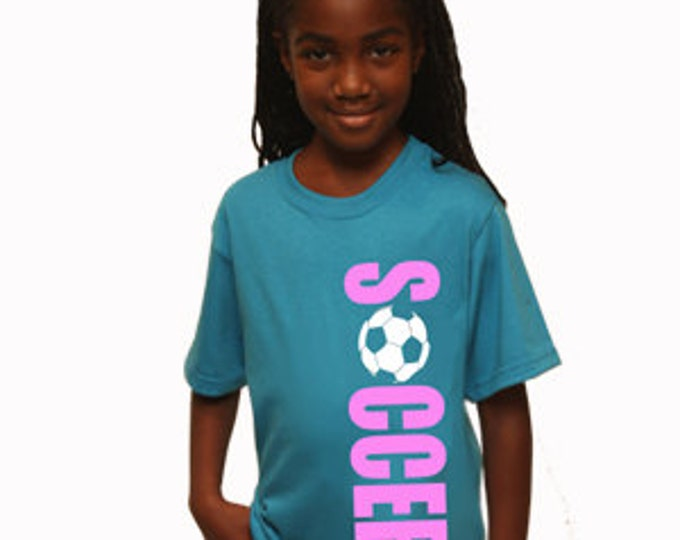 Customized soccer tshirts;  boy's t-shirt; girl tshirt; youth soccer