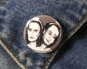 Bette and Dot Tattler from American Horror Story Freak Show Pin - Wearable Art - Unique Gift  for ALL American Horror Story Fans