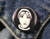 Sister Mary Eunice from American Horror Story Asylum Pin - Wearable Art - Unique Gift for ALL American Horror Story Fans
