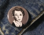 Moira O'Hara from American Horror Story Murder House Pin - Wearable Art - Unique Gift  for ALL American Horror Story Fans