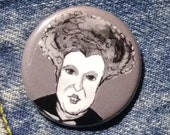 Winifred Sanderson from Hocus Pocus pin - Bad Ass Ladies of Horror - Wearable Art - Unique Gift for ALL Horror Fans
