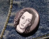 Clarice Starling from Silence of the Lambs pin - Bad Ass Ladies of Horror - Wearable Art - Unique Gift for ALL Horror Fans