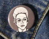 Edward Philippe Mott from American Horror Story Roanoke Pin - Wearable Art - Unique Gift for ALL American Horror Story Fans