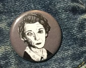Moira Ohara from American Horror Story Murder House Pin - Wearable Art - Unique Gift  for ALL Horror Fans
