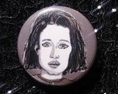 Rhonda Lebeck from Tremors pin - Bad Ass Ladies of Horror - Wearable Art - Unique Gift for ALL Horror Fans