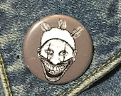 Twisty The Clown from American Horror Story Freak Show Pin - Wearable Art - Unique Gift  for ALL Horror Fans