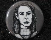 Lana Winters from American Horror Story Asylum Pin - Wearable Art - Unique Gift  for ALL American Horror Story Fans