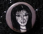 Kayako Saeki from The Grudge/Ju on pin - Bad Ass Ladies of Horror - Wearable Art - Unique Gift for ALL Horror Fans