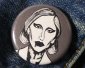 Lady Gaga as The Countess from American Horror Story Hotel Pin - Wearable Art - Unique Gift  for ALL American Horror Story Fans