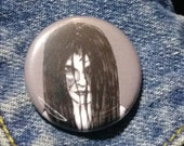 Samara from The Ring pin - Bad Ass Ladies of Horror - Wearable Art - Unique Gift for ALL Horror Fans