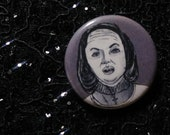 Annie Wilkes from Misery pin - Bad Ass Ladies of Horror - Wearable Art - Unique Gift for ALL Horror Fans
