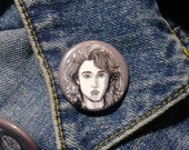 Nancy Thompson from Nightmare on Elm Street pin - Bad Ass Ladies of Horror - Wearable Art - Unique Gift for ALL Horror Fans