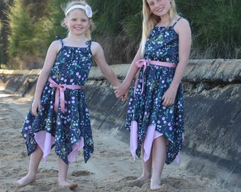 bd913a7b91d Girls Handkerchief Dress