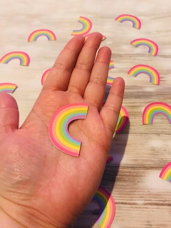 rainbow table confetti party confetti Rainbow party confetti LGBTQ confetti unicorn rainbow table confetti